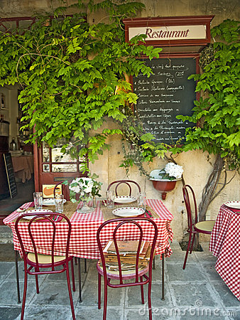 Free French Restaurant Stock Photography - 5420852