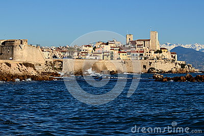 French riviera, Antibes, Old town, museum