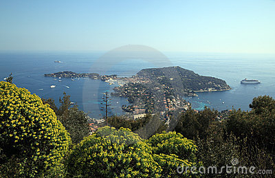 French Riviera - beautiful Saint-Jean-Cap-Ferrat