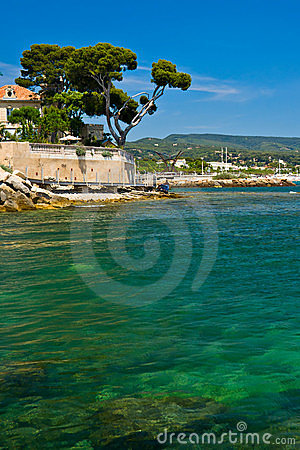 Free French Riviera Coast Royalty Free Stock Photo - 16201375