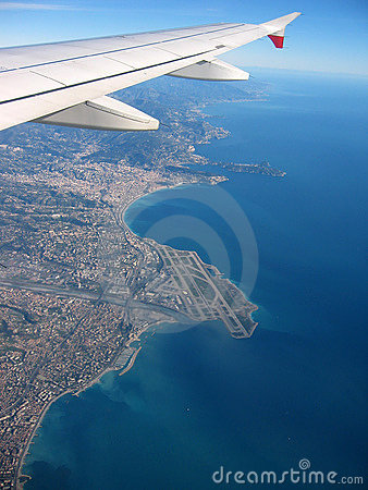 Free French Riviera From The Sky Royalty Free Stock Images - 492989