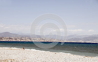 The French Riviera Nice France Mediterranean Sea