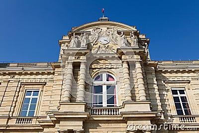 French Senate in Paris