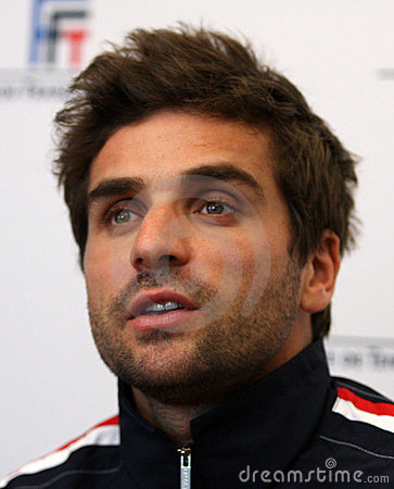 French tennisman s Arnaud Clement Editorial Photo