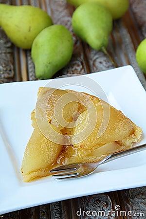 French traditional pie Tarte Tatin