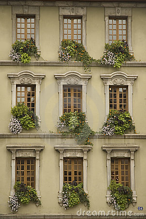 Free French Windows Stock Images - 1391574