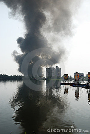 Frequent fire at slums of Kolkata Editorial Photo