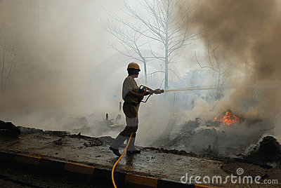 Frequent fire at slums of Kolkata Editorial Image