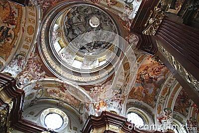 Fresco in cloister Melk