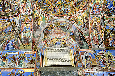 Fresco from Rila Monastery