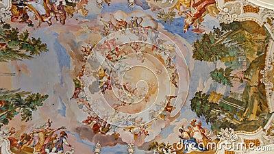 Frescos at Baroque Church