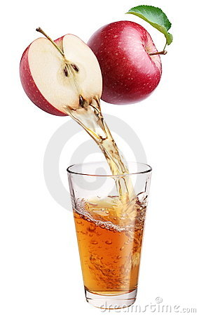 Free Fresh Apple Juice. Royalty Free Stock Image - 16723926