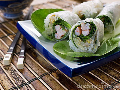 Fresh Asian Spring Roll
