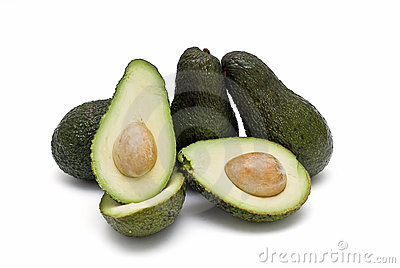 Fresh avocados to cook.