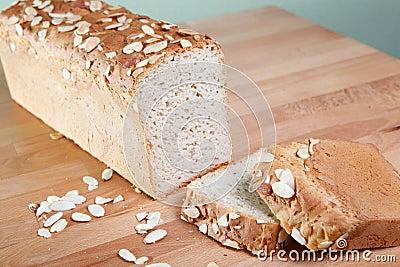 Fresh baked gluten free almond bread