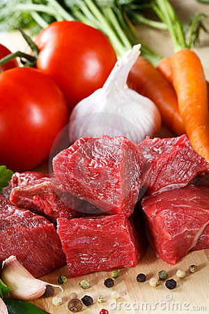Free Fresh Beef Royalty Free Stock Image - 16189896
