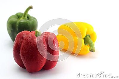 Fresh bell peppe