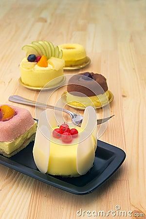 Fresh Berry Fruit Cake Royalty Free Stock Image - Image: 26087156