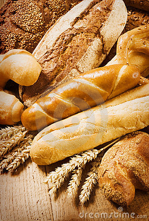 Free Fresh Bread And Rolls Stock Image - 10686201
