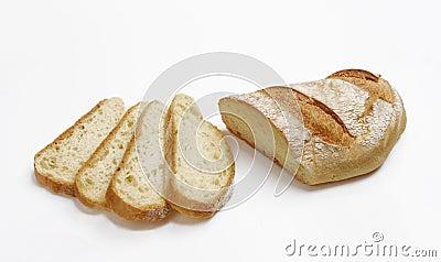 Fresh breads.