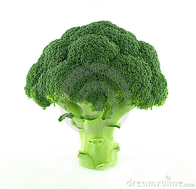 A fresh broccoli