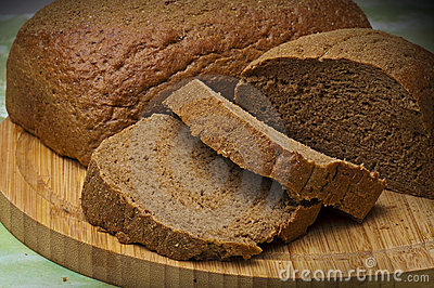 Fresh brown bread