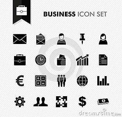Free Fresh Business Work Icon Set. Stock Images - 33271094