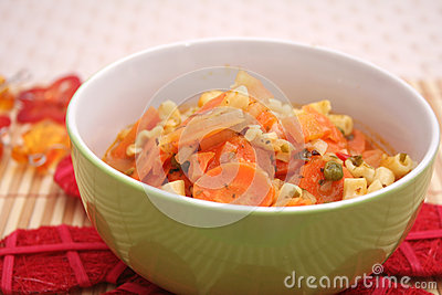 Fresh carrots stew