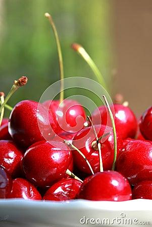 Free Fresh Cherries Stock Photo - 20823180