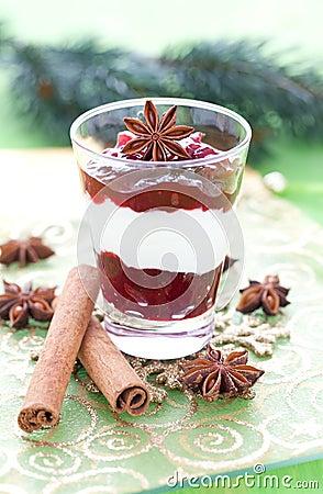 Christmas Desserts on Fresh Christmas Dessert Cogipix Dreamstime Com Id 20136156 Level 0