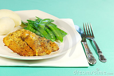 Fresh Cod with vegetables