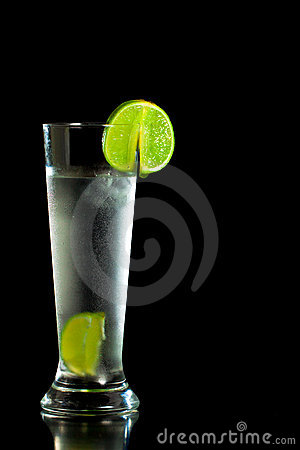 Free Fresh Cold Drink With Lime Stock Images - 18964094