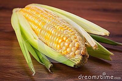 Fresh corncob