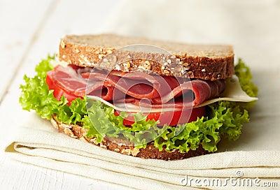 Fresh deli sandwich
