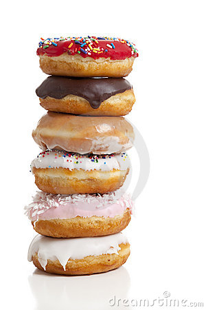 Free Fresh Donuts Royalty Free Stock Photography - 9075767