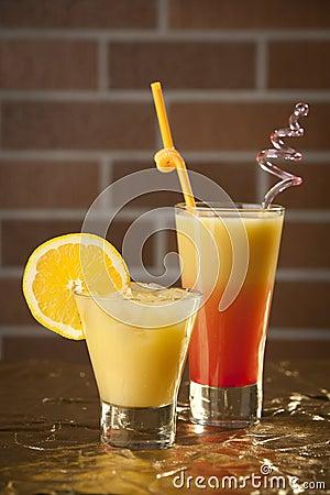 Fresh drink cocktail