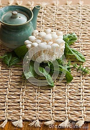 Fresh Enoki Mushrooms