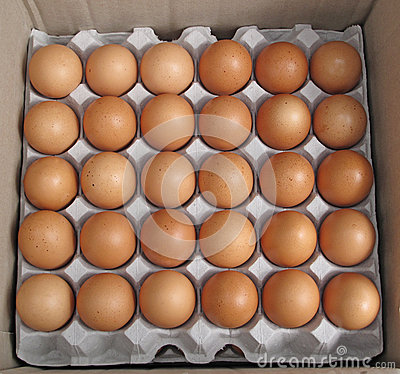 Free Fresh Farm Eggs Royalty Free Stock Photo - 68953005