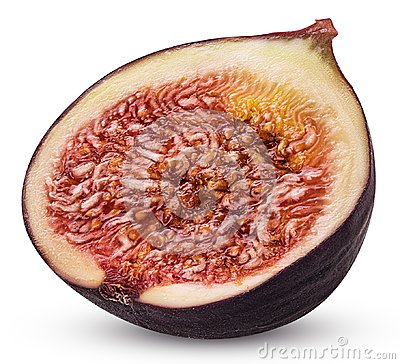 Free Fresh Figs Fruit Cut In Half Royalty Free Stock Photography - 114529687