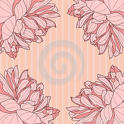 Fresh flower background