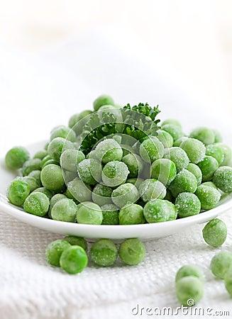 Fresh frozen peas
