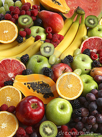 Fresh Fruit Background Royalty Free Stock Image - Image: 8219666