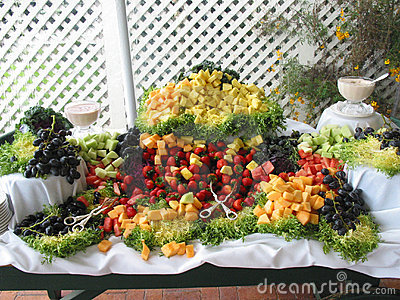 Fresh Fruit Buffet Spread