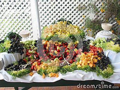 Fresh Fruit Buffet Spread