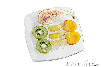 Fresh fruit close up