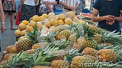 Fresh Fruit in a market