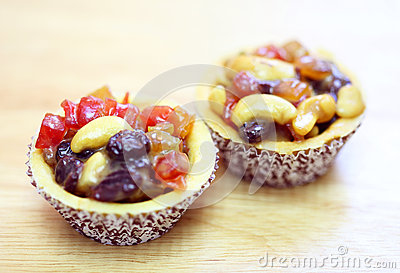Fresh fruit pie tart