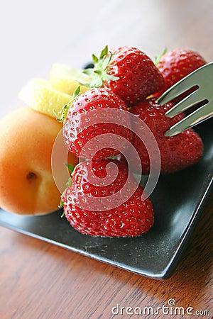 Free Fresh Fruit Platter Stock Images - 401844