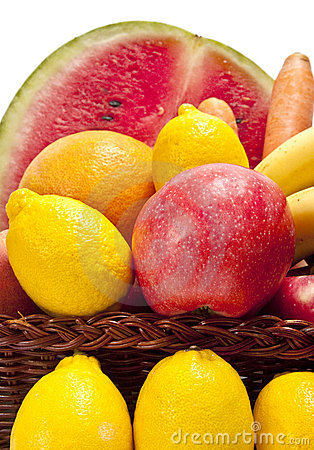 Fresh Fruits Close Up
