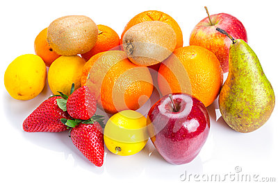 Fresh fruits selection